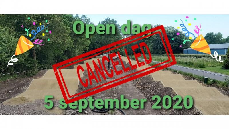Open dag BMX Stede Broec geannuleerd
